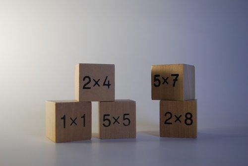 wood  cube  creativity