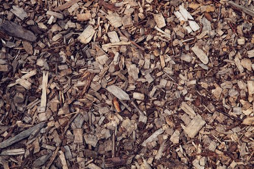 wood  chips  sawdust
