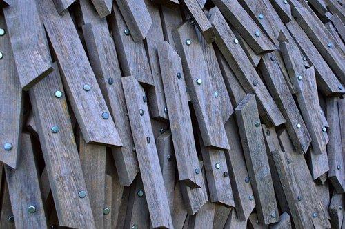 wood  wooden sculpture  installation