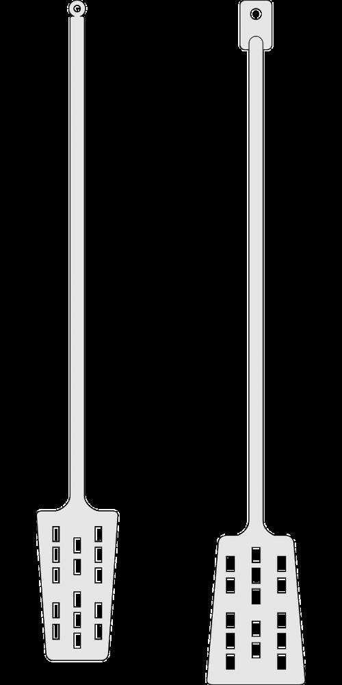 wood pole paddle