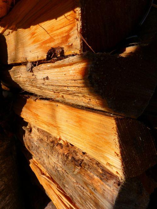 wood firewood log