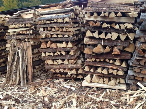 wood stock holzstapel