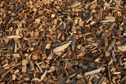 wood chips wood chips
