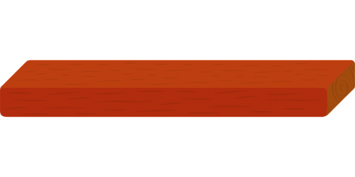 wood red plank