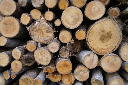 wood firewood combs thread cutting