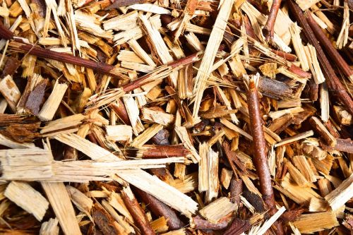 wood wood splitter wood chips
