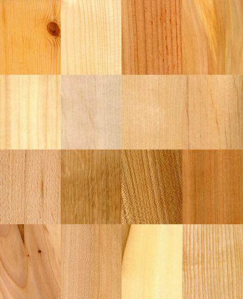 wood samples textures