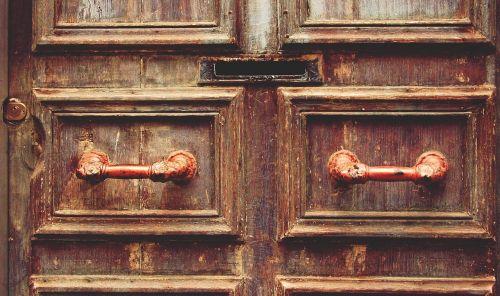 wood door mail slot