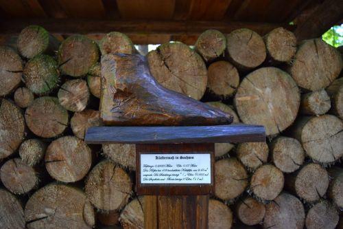 mediena,pėdos,suprasti,priemonė,Saksonija,senas,anksčiau,modelis,eksponatas