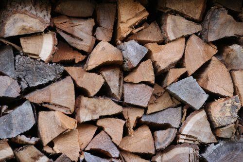 wood firewood stock