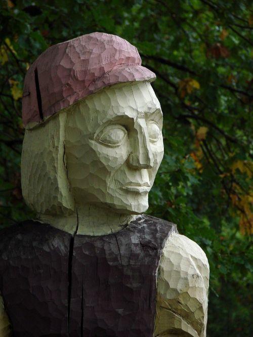wood carving sculpture wood