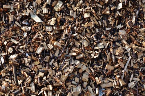 wood chips firewood horticulture