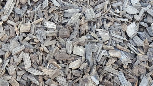 wood chips texture background