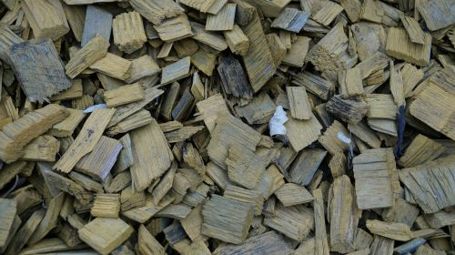 wood chips wood background