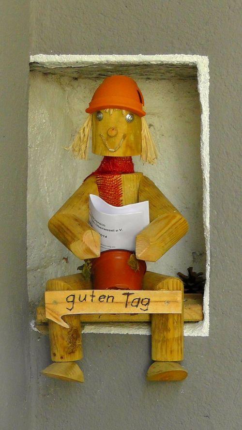 wood doll holzfigur figure