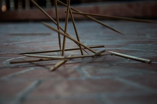 wood dunk meatballs skewers  ground