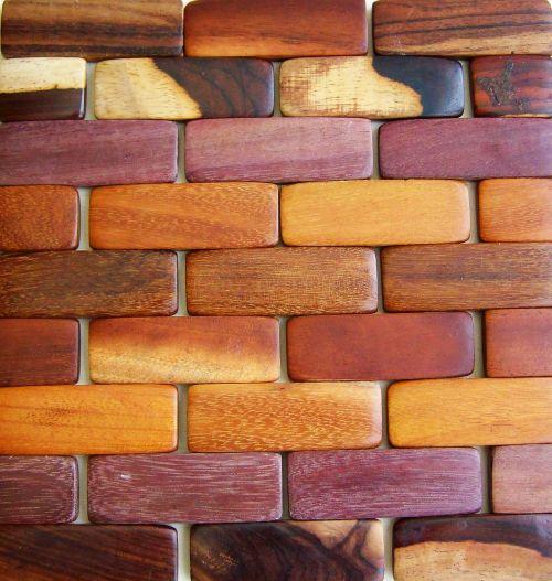 wall bricks wooden bricks