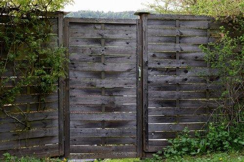 wood fence  garden fence  fence