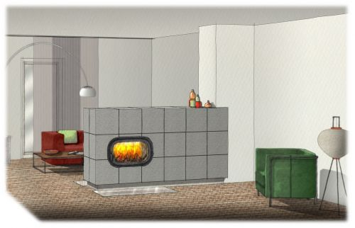 wood fire basic oven ceramic