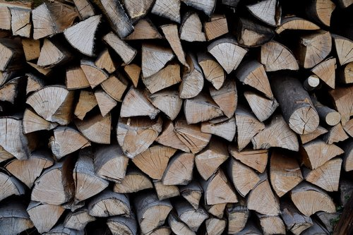 wood pile  firewood  wood for the fireplace