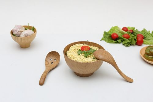 wood products cooking tableware