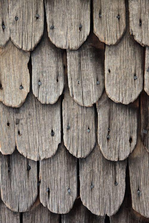 wood shingles shingle old