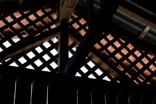 wood truss wood holzgibel