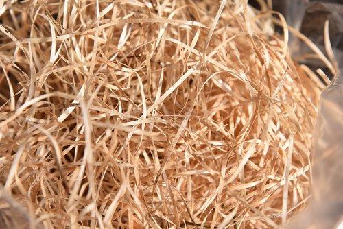 wood wool  garden  underlay material