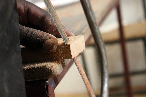 wood work  cutting  wood