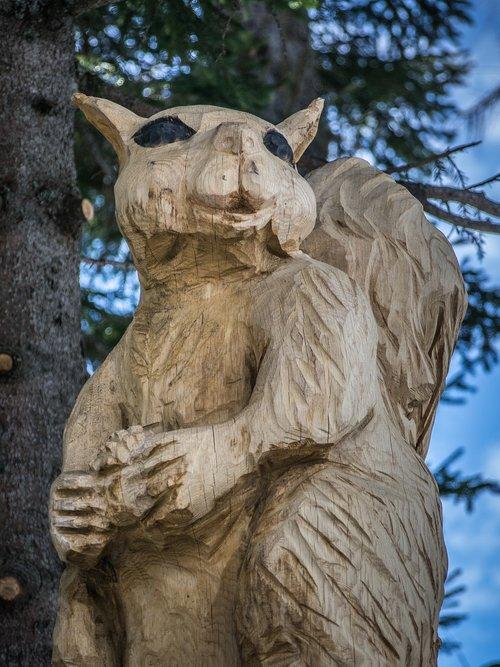 woodcut  art  wooden sculpture