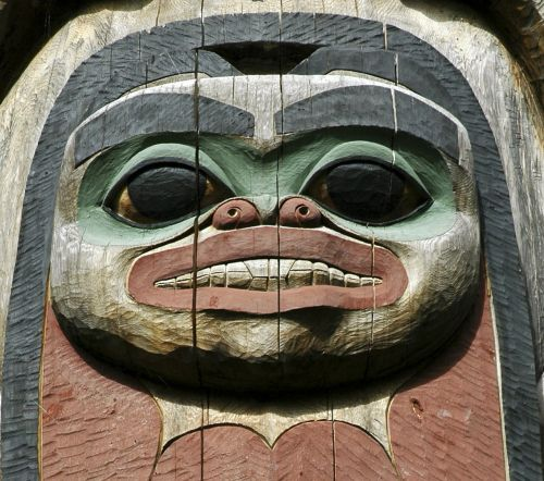 wooden totem native