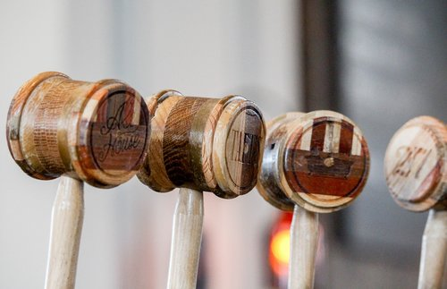 wooden  wood  tap