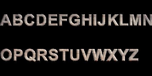 wooden alphabet letters letters alphabet