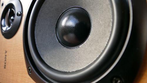 Wooden Audio Speaker