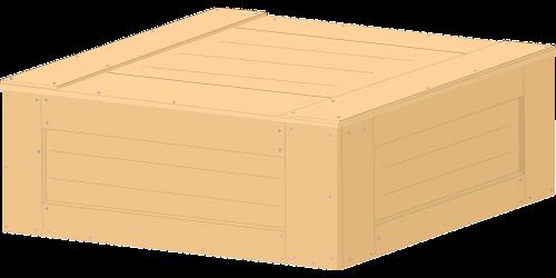 wooden box box cargo