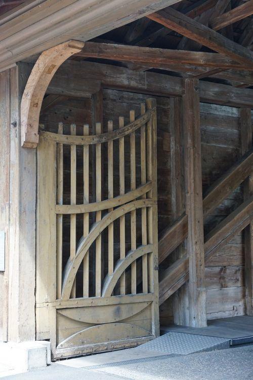 wooden bridge customs bridge goal
