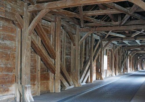 wooden bridge customs bridge trusses