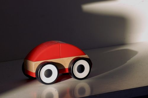 wooden car toy car simply