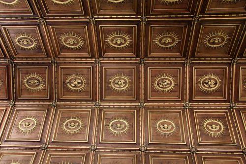 Wooden Church Ceiling