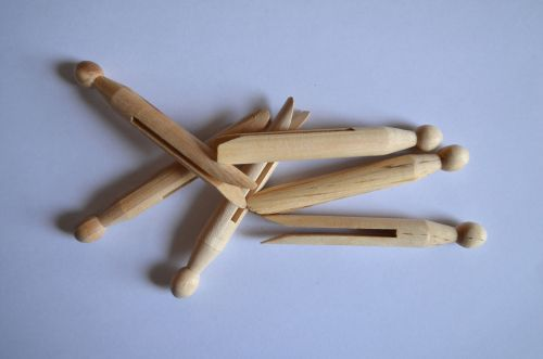 Wooden Clothes-pegs
