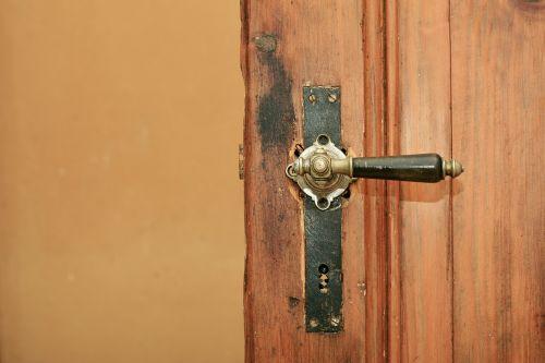 wooden door door handle door knob