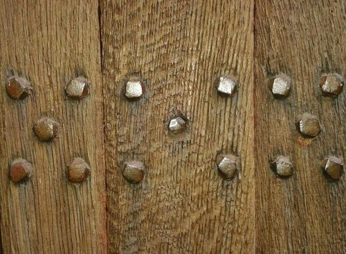 wooden door door input