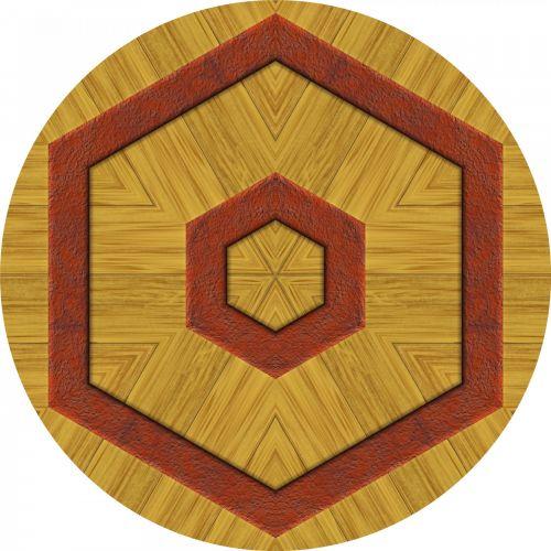 Wooden Hex