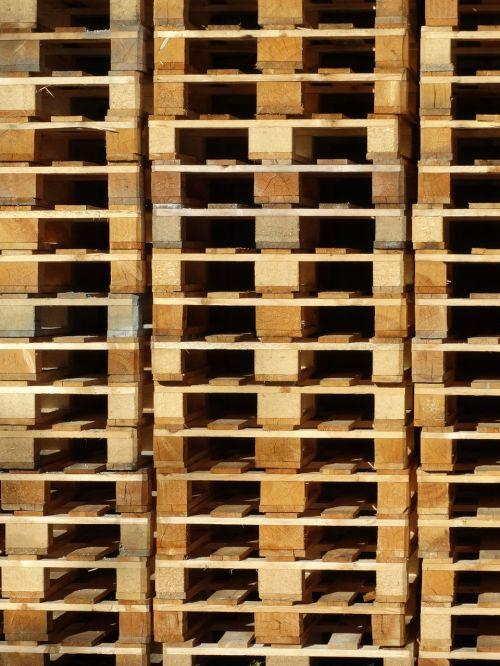 wooden pallets pallets stack
