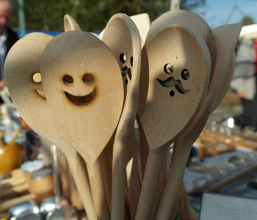 wooden spoon spoon utensil