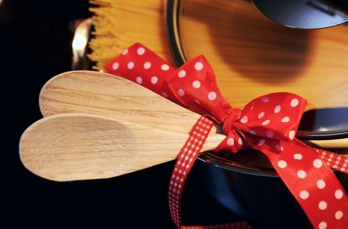 wooden spoon cook invitation