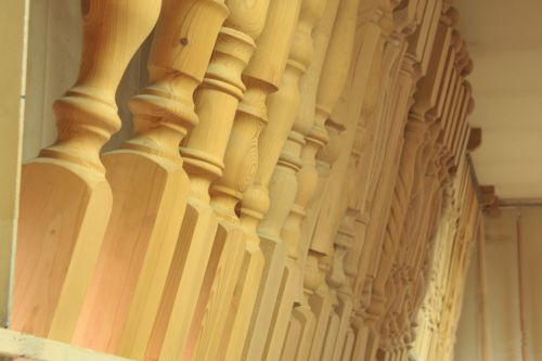Wooden Stairs Details