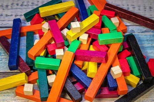 wooden sticks  colorful  chopsticks