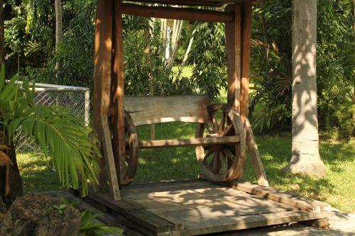 Wooden Swing #1