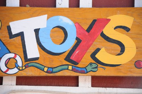 Wooden Toys Sign